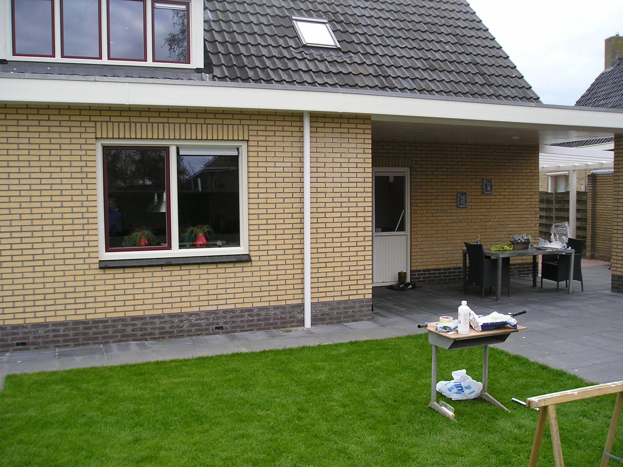 Aanbouw huis & carport in Niebert - Klus- en onderhoudsbedrijf Veenstra